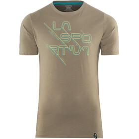 La Sportiva Sliced Logo - Camiseta manga corta Hombre - marrón